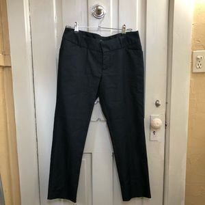 Mossimo Dark Blue Capri Trousers
